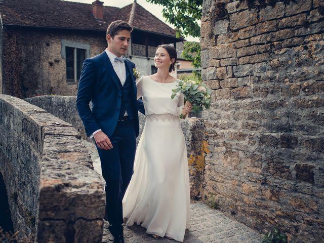 Le mariage de Arthur et Lola à Salins-les-Bains, Jura 15