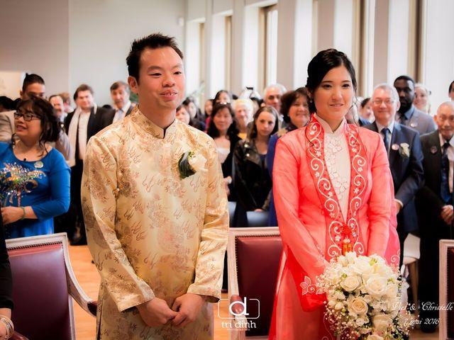Le mariage de Viet et Christelle à Noisy-le-Grand, Seine-Saint-Denis 16