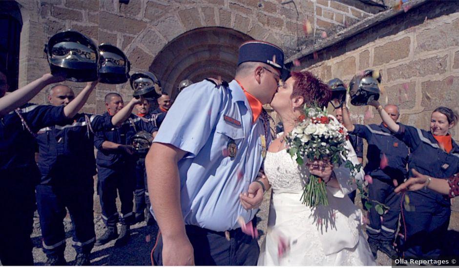 Le mariage de Clément et Christilla à Marvejols, Lozère