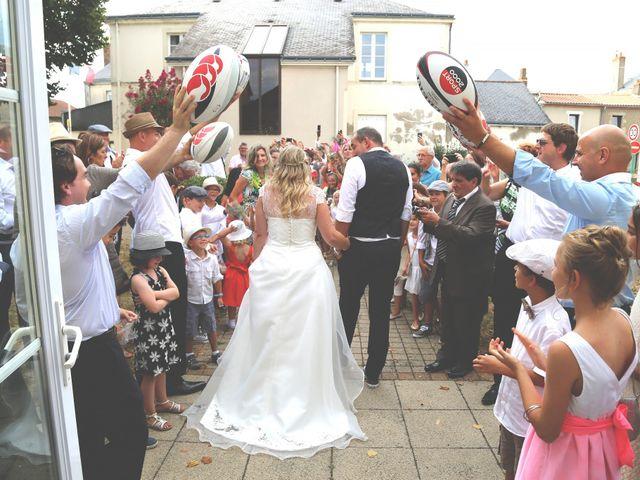 Le mariage de Frédéric et Soléna à Saint-Lumine-de-Clisson, Loire Atlantique 35