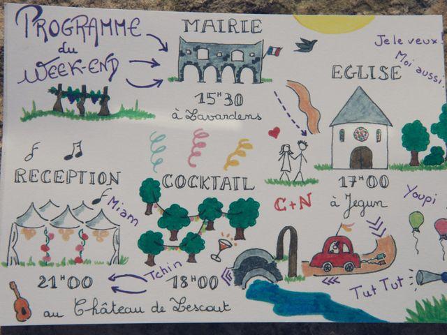 Le mariage de Nicolas et Célia à Jégun, Gers 2