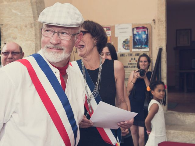 Le mariage de Nicolas et Célia à Jégun, Gers 14