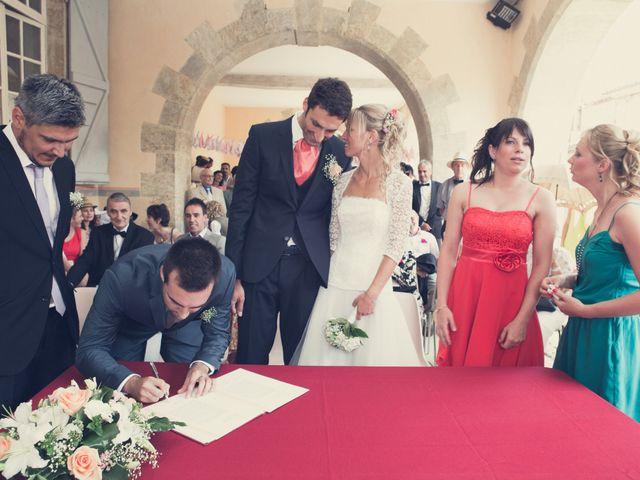Le mariage de Nicolas et Célia à Jégun, Gers 19