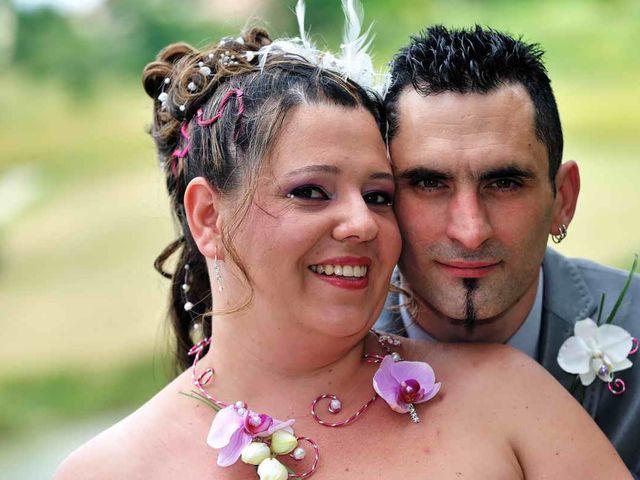 Le mariage de Sandrine et David à Montdragon, Tarn 1