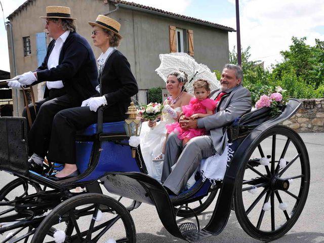 Le mariage de Sandrine et David à Montdragon, Tarn 10