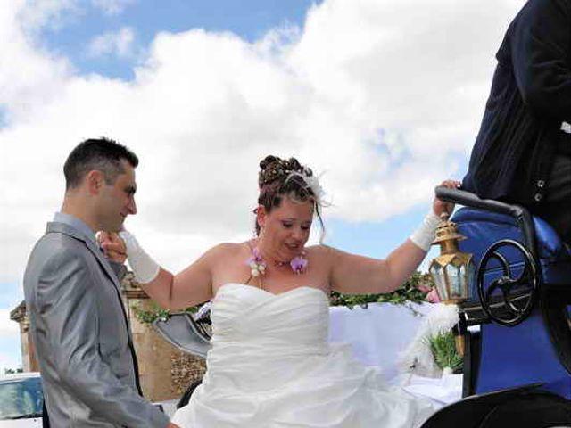 Le mariage de Sandrine et David à Montdragon, Tarn 7