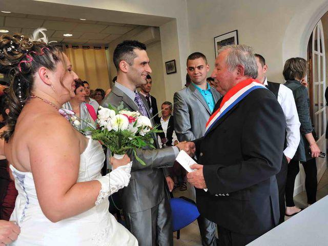 Le mariage de Sandrine et David à Montdragon, Tarn 16