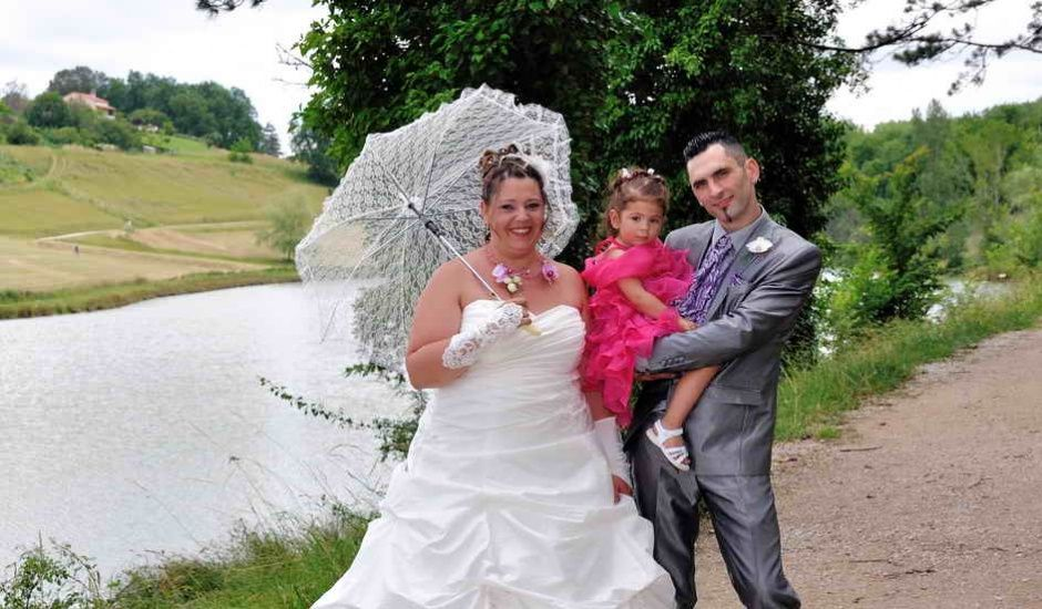 Le mariage de Sandrine et David à Montdragon, Tarn