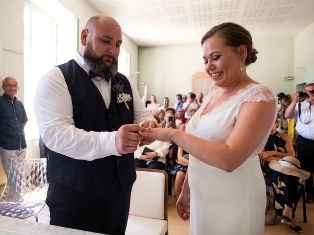 Le mariage de Julien et Justine à La Coucourde, Drôme 1