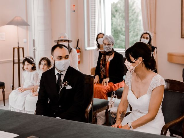 Le mariage de Flavien et Isabelle à Louveciennes, Yvelines 43
