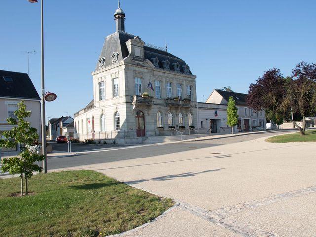Le mariage de Benjamin et Jessicka à Pleumartin, Vienne 1