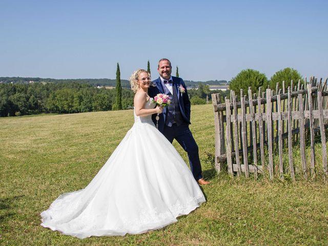Le mariage de Benjamin et Jessicka à Pleumartin, Vienne 21