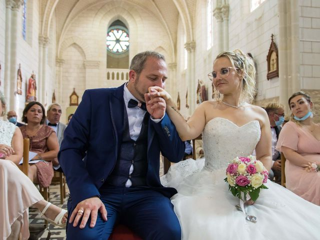 Le mariage de Benjamin et Jessicka à Pleumartin, Vienne 38