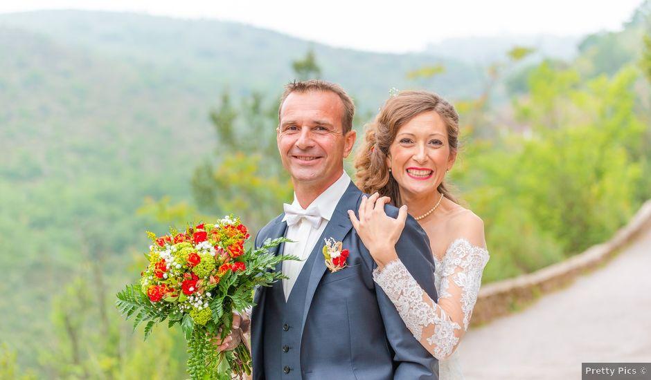 Le mariage de Nicolas et Fabienne à Saint-Féliu-d'Avall, Pyrénées-Orientales