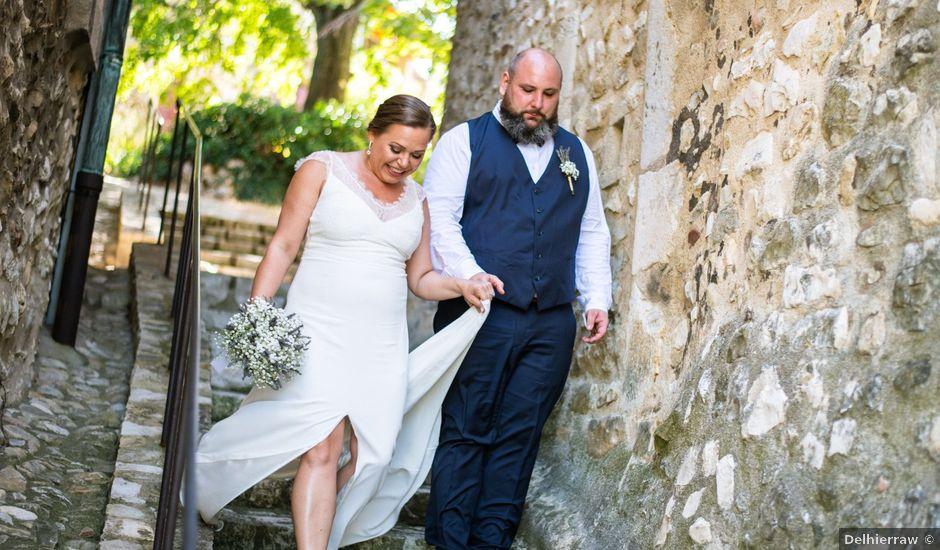 Le mariage de Julien et Justine à La Coucourde, Drôme