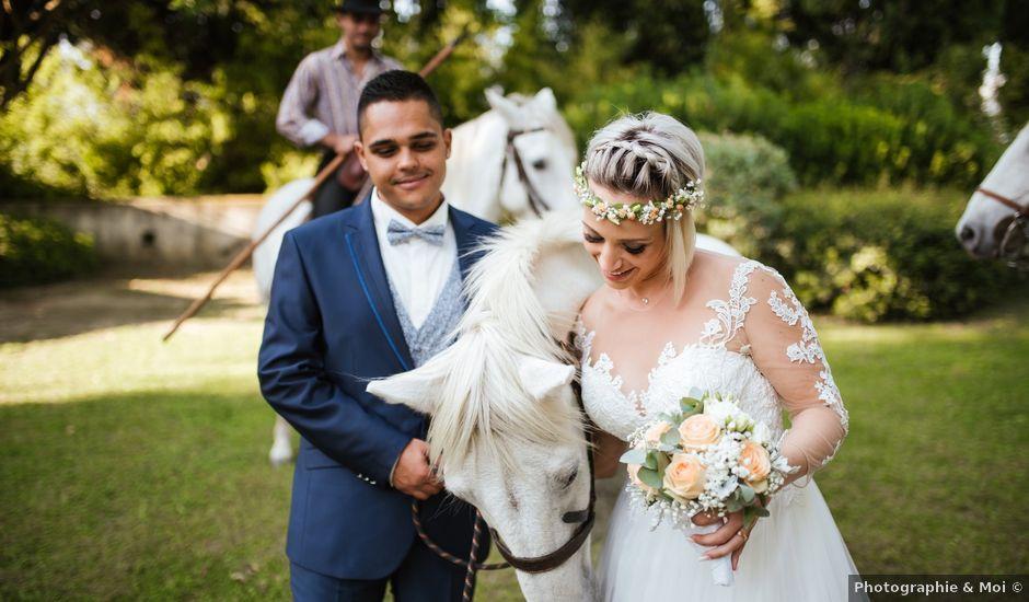 Le mariage de Médéric et Marion à Quissac, Gard