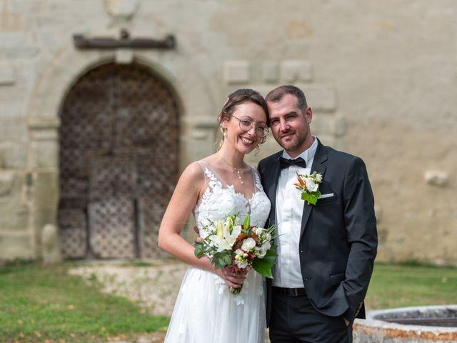 Le mariage de Guillaume et Bénédicte à Le Poët-Célard, Drôme 9