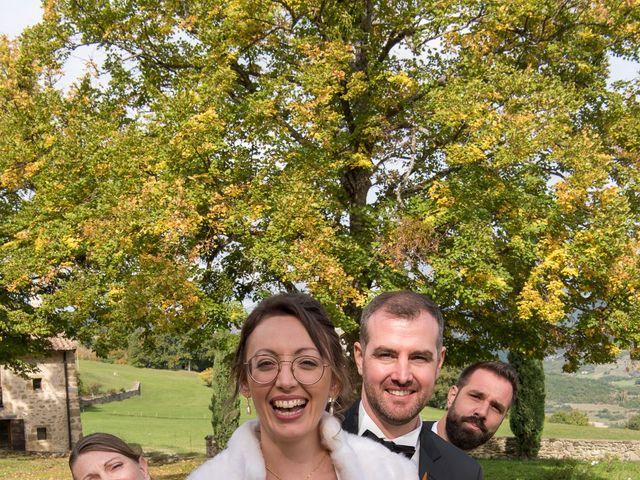 Le mariage de Guillaume et Bénédicte à Le Poët-Célard, Drôme 19