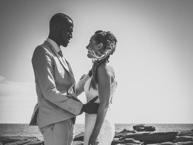 Le mariage de Bafodé et Margaux à Lesconil, Finistère 12