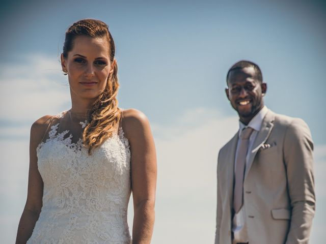 Le mariage de Bafodé et Margaux à Lesconil, Finistère 14