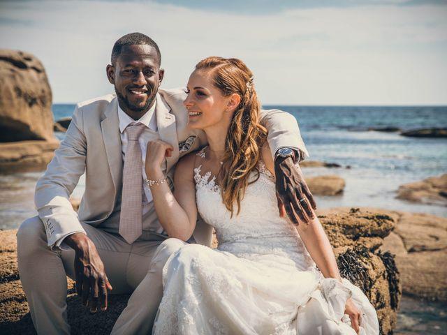 Le mariage de Bafodé et Margaux à Lesconil, Finistère 17