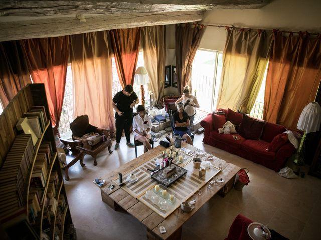 Le mariage de Benjamin et Caroline à Saint-Hilaire-de-Brethmas, Gard 9