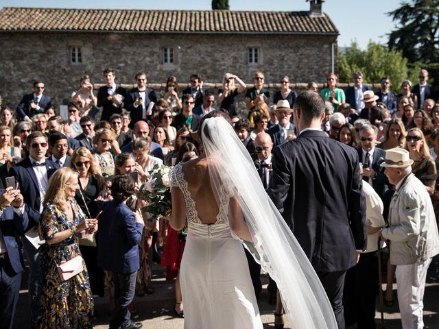 Le mariage de Benjamin et Caroline à Saint-Hilaire-de-Brethmas, Gard 34