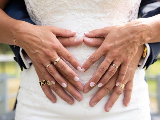 Le mariage de Sylvain et Floriane à Maxent, Ille et Vilaine 42