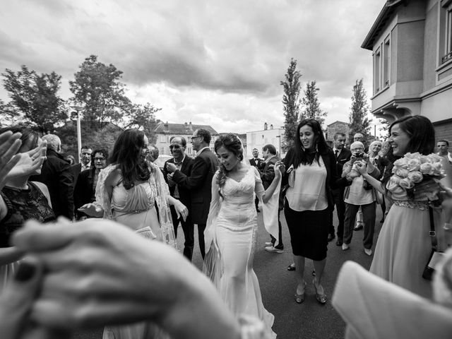 Le mariage de Morad et Karine à Lyon, Rhône 27