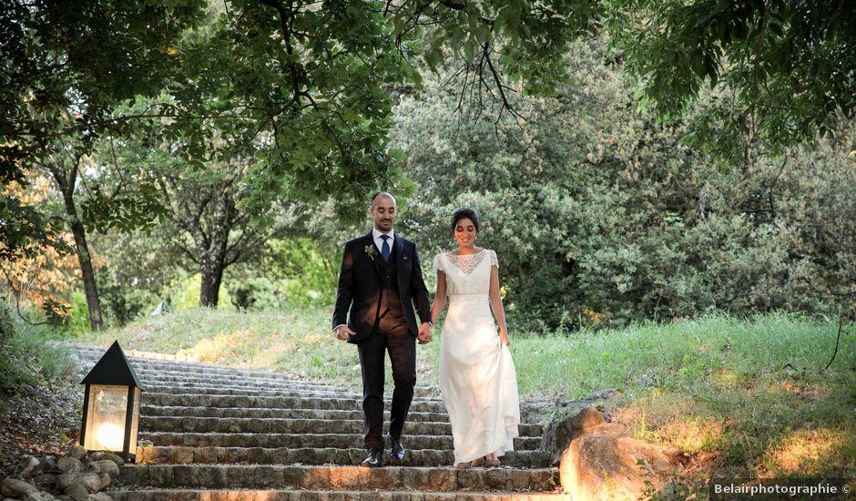 Le mariage de Benjamin et Caroline à Saint-Hilaire-de-Brethmas, Gard