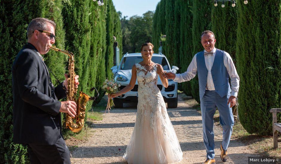 Le mariage de Lionel et Sandie à La Garde-Adhémar, Drôme