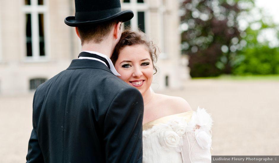 Le mariage de Fabien et Clémence à Gisors, Eure