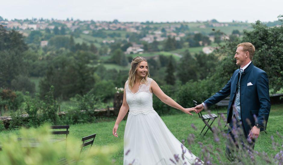 Le mariage de Emmanuel et Justine à Pommiers, Rhône