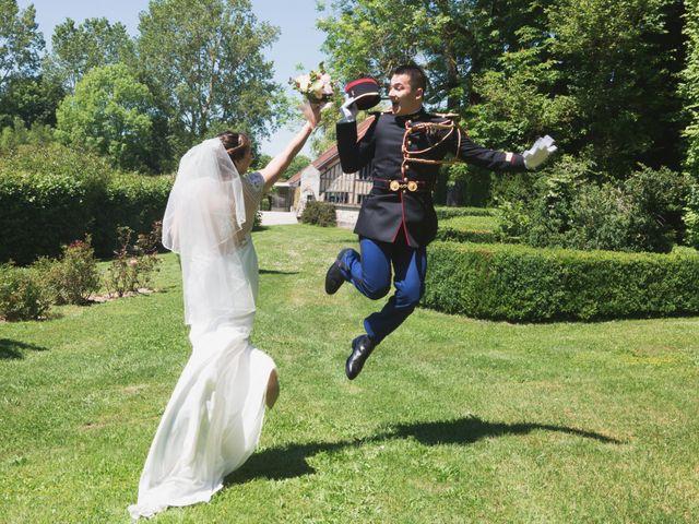 Le mariage de Thomas et Claire à Créney-près-Troyes, Aube 7