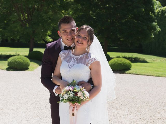 Le mariage de Thomas et Claire à Créney-près-Troyes, Aube 15