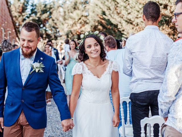 Le mariage de Kévin et Malvina à Mirepoix, Ariège 59