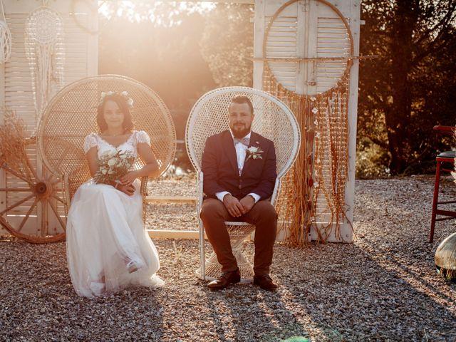 Le mariage de Kévin et Malvina à Mirepoix, Ariège 66
