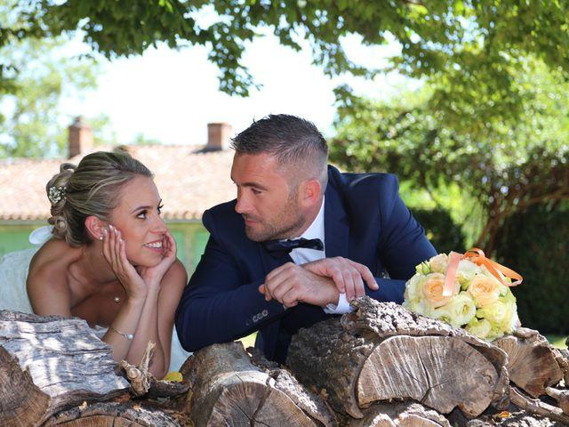 Le mariage de Mathieu et Alissia à Montcaret, Dordogne 14