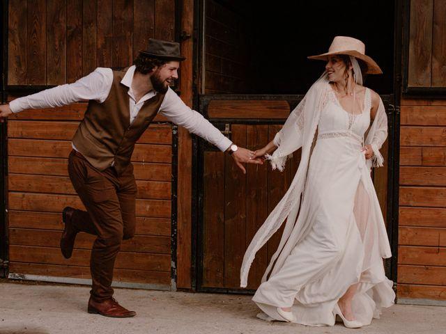 Le mariage de Quentin et Mathilde à Salbris, Loir-et-Cher 44