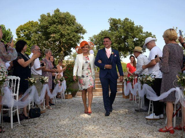Le mariage de Valentin et Mélanie à Belpech, Aude 82