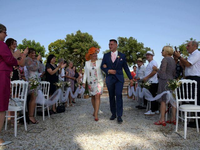Le mariage de Valentin et Mélanie à Belpech, Aude 83