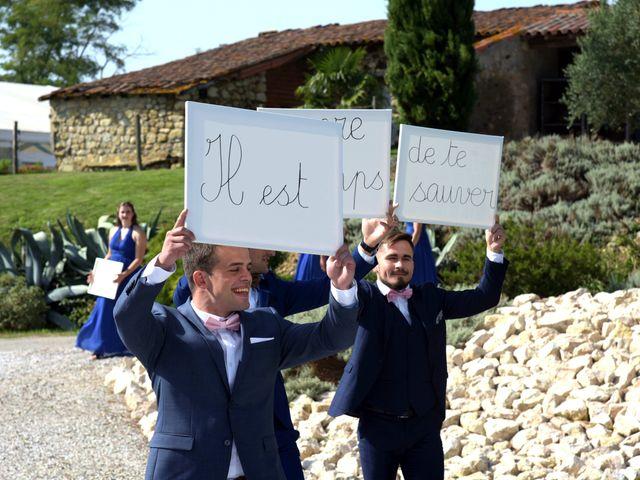 Le mariage de Valentin et Mélanie à Belpech, Aude 85