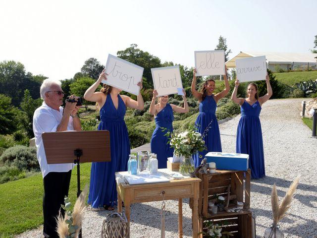 Le mariage de Valentin et Mélanie à Belpech, Aude 89