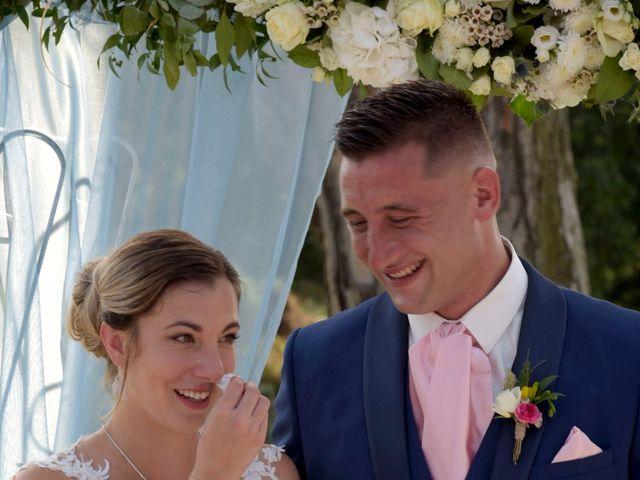Le mariage de Valentin et Mélanie à Belpech, Aude 107