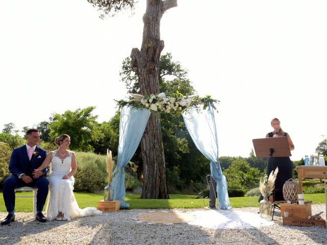 Le mariage de Valentin et Mélanie à Belpech, Aude 114