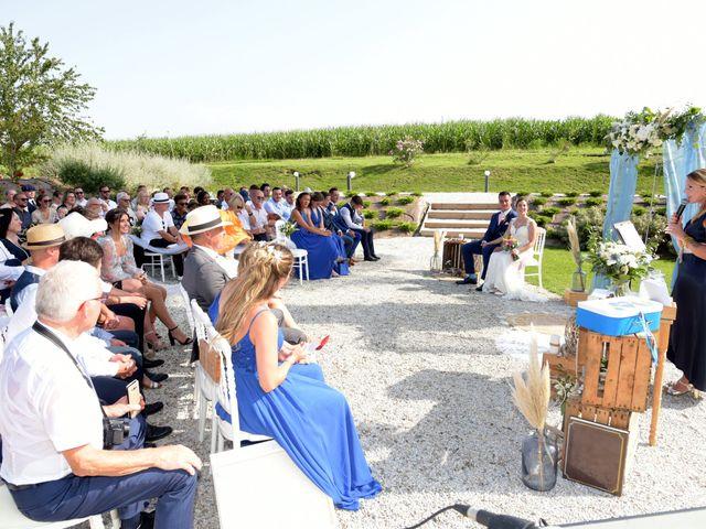 Le mariage de Valentin et Mélanie à Belpech, Aude 121