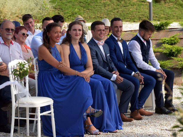 Le mariage de Valentin et Mélanie à Belpech, Aude 124