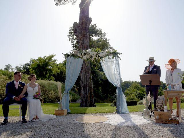Le mariage de Valentin et Mélanie à Belpech, Aude 139