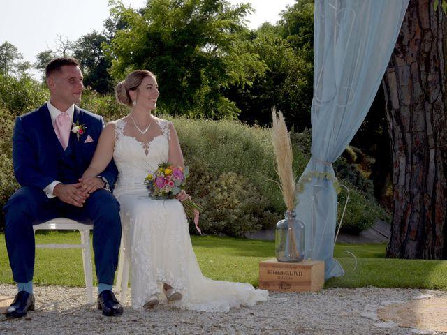 Le mariage de Valentin et Mélanie à Belpech, Aude 141