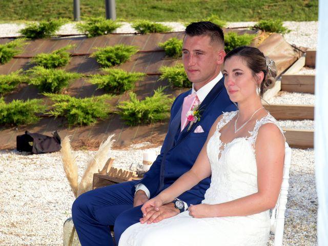 Le mariage de Valentin et Mélanie à Belpech, Aude 222